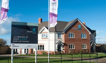 New Homes Shrewsbury, Sweetlake Meadow, Longden Road, Shrewsbury