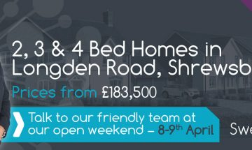 Sweetlake Meadow Open Day in Shrewsbury - SJ Roberts Homes