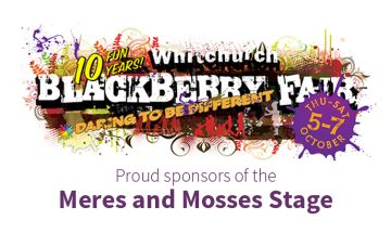 SJ Roberts Homes sponsoring Whitchurch Blackberry Fair 2017