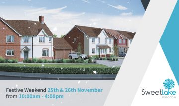 SJ Roberts Homes - Sweetlake Meadow festive weekend - 25/26th November 2017